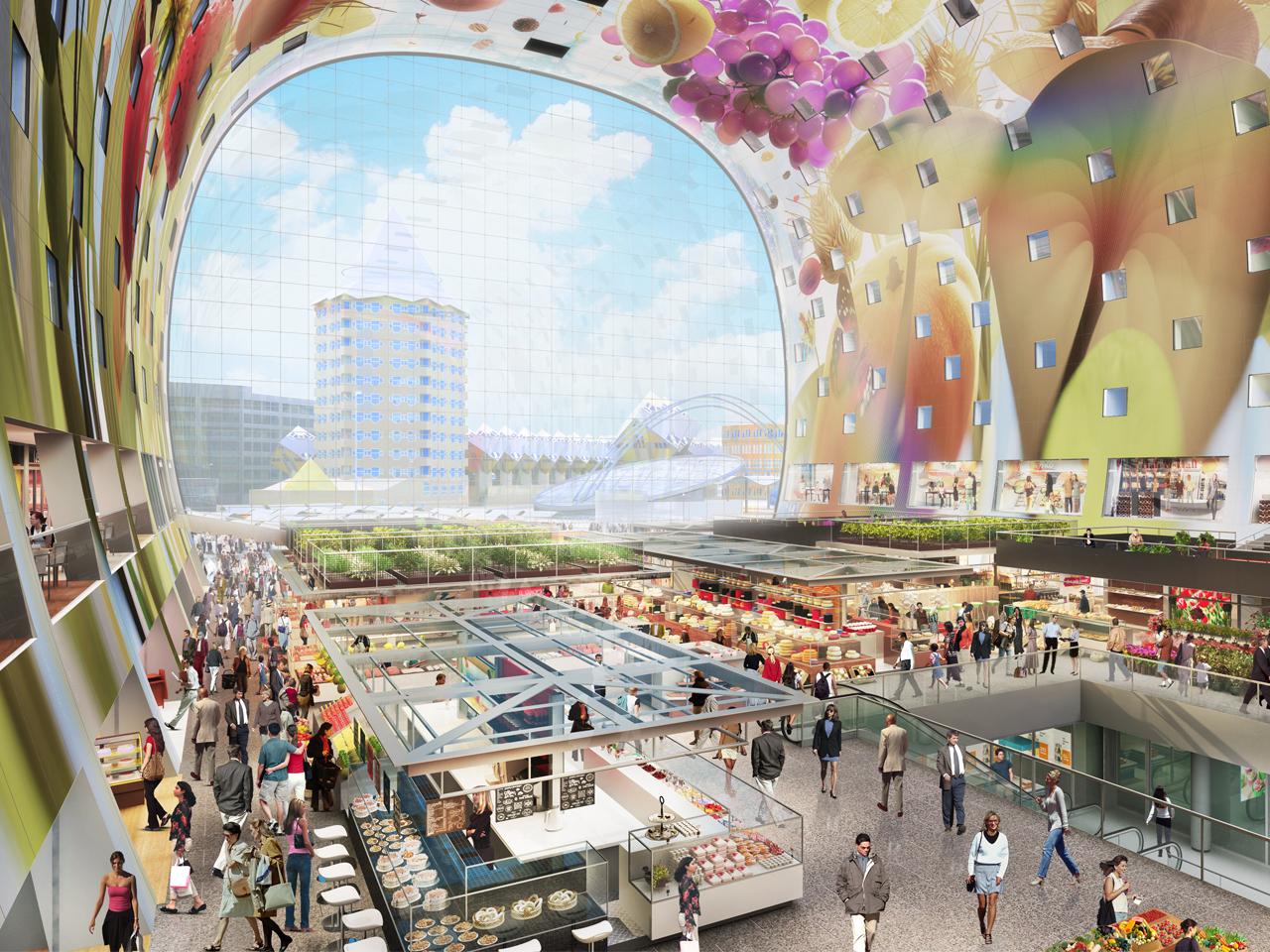 MVRDV - CNN lists Market Hall among the world top 10 architectural ...