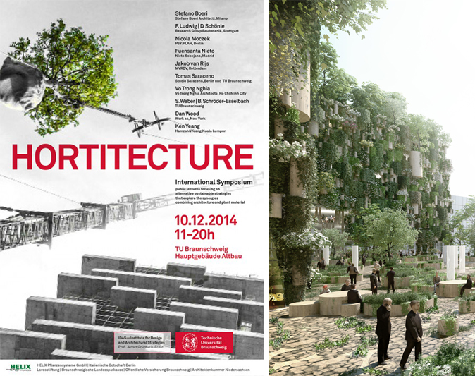 "Jacob Van Rijs lectures at ""Hortitecture 01"" symposium at TU Braunshweig, Germany"
