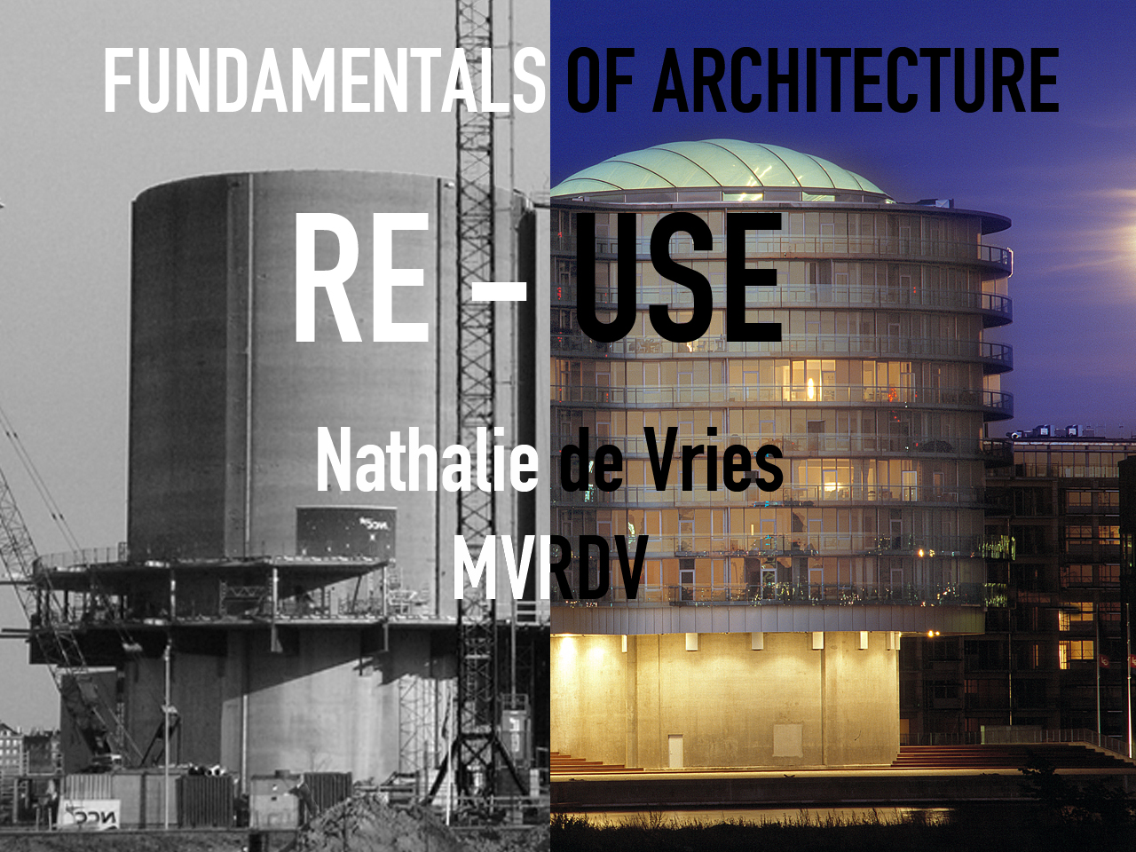 Lecture: Nathalie de Vries on 'Re-Use' in Dortmund