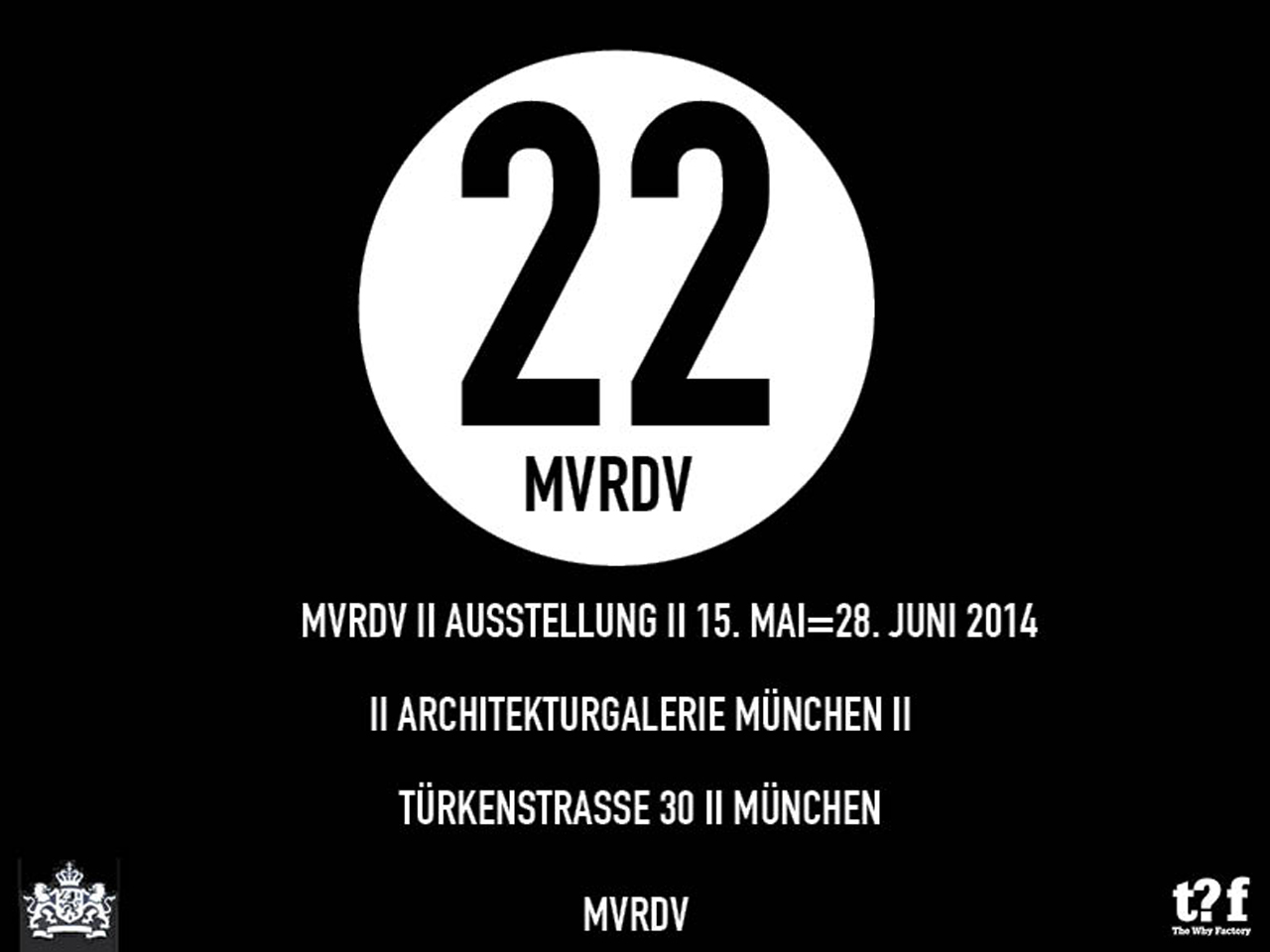 MVRDV Exhibition at the Architekturgalerie München