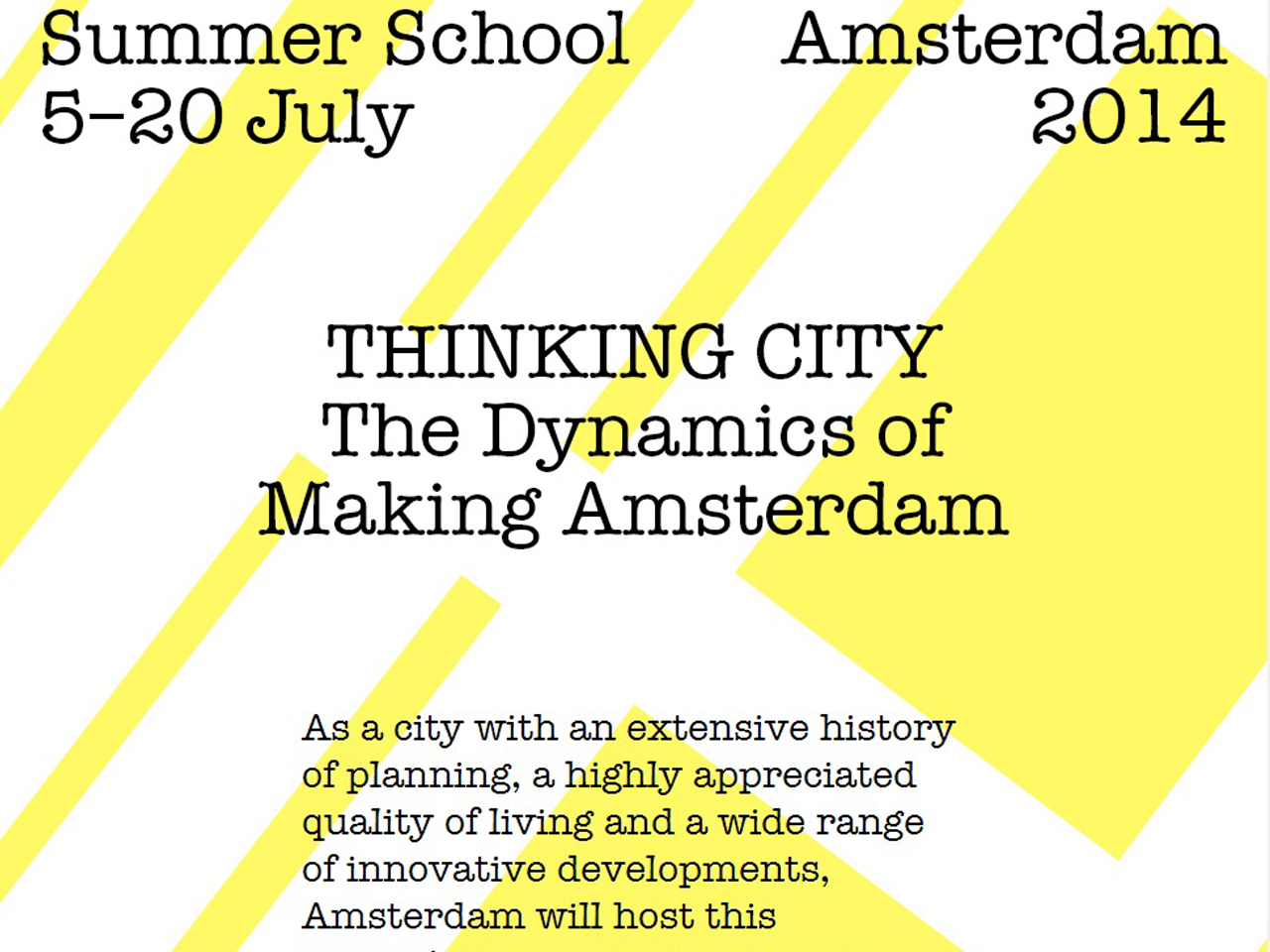 Jacob van Rijs Tutors at Summer School Amsterdam