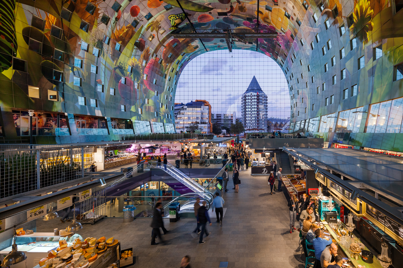 MVRDV's Jan Knikker to give Markthal lecture in Vienna, 28th April 2016