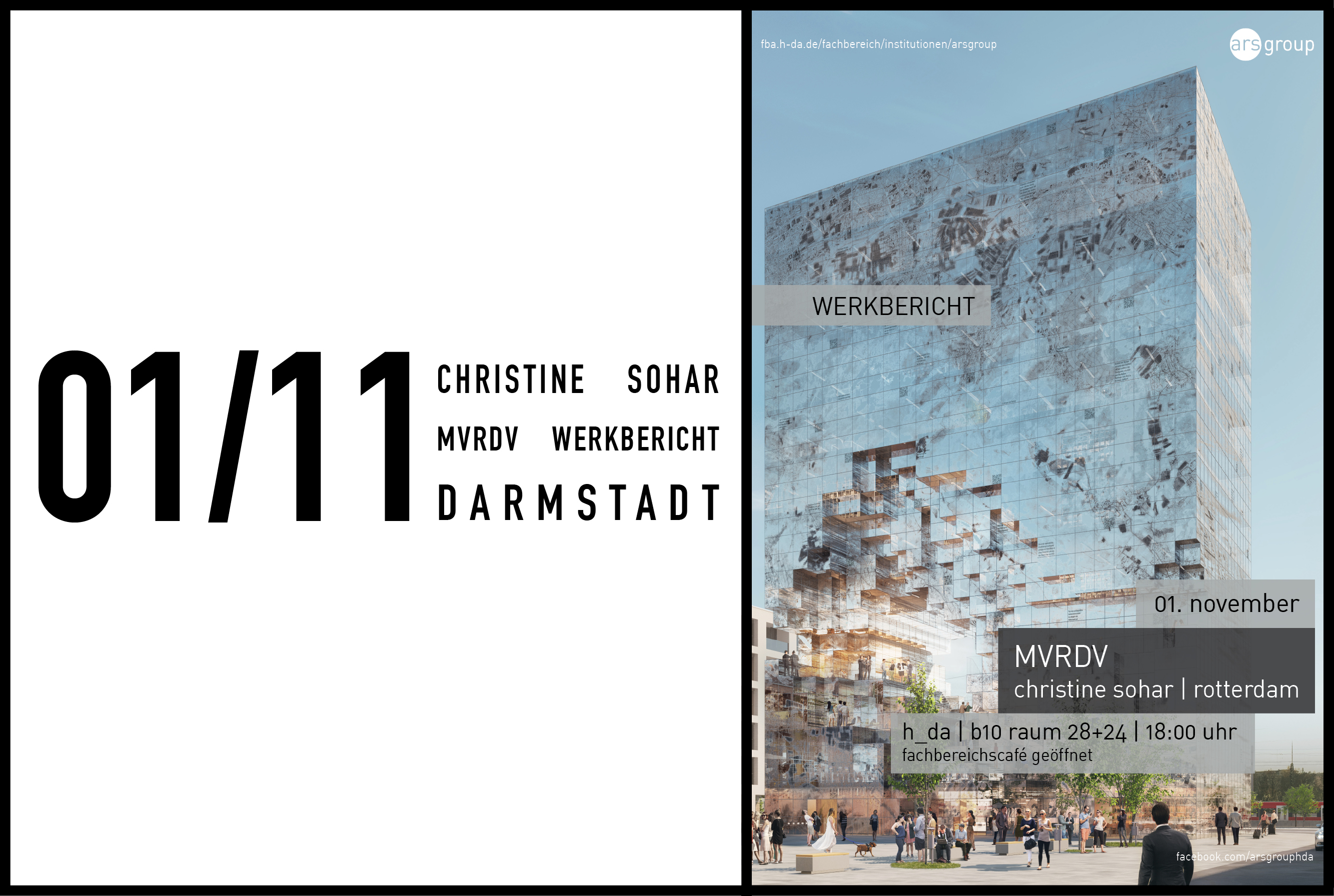 Christine Sohar to speak at Darmstadt School of Architecture