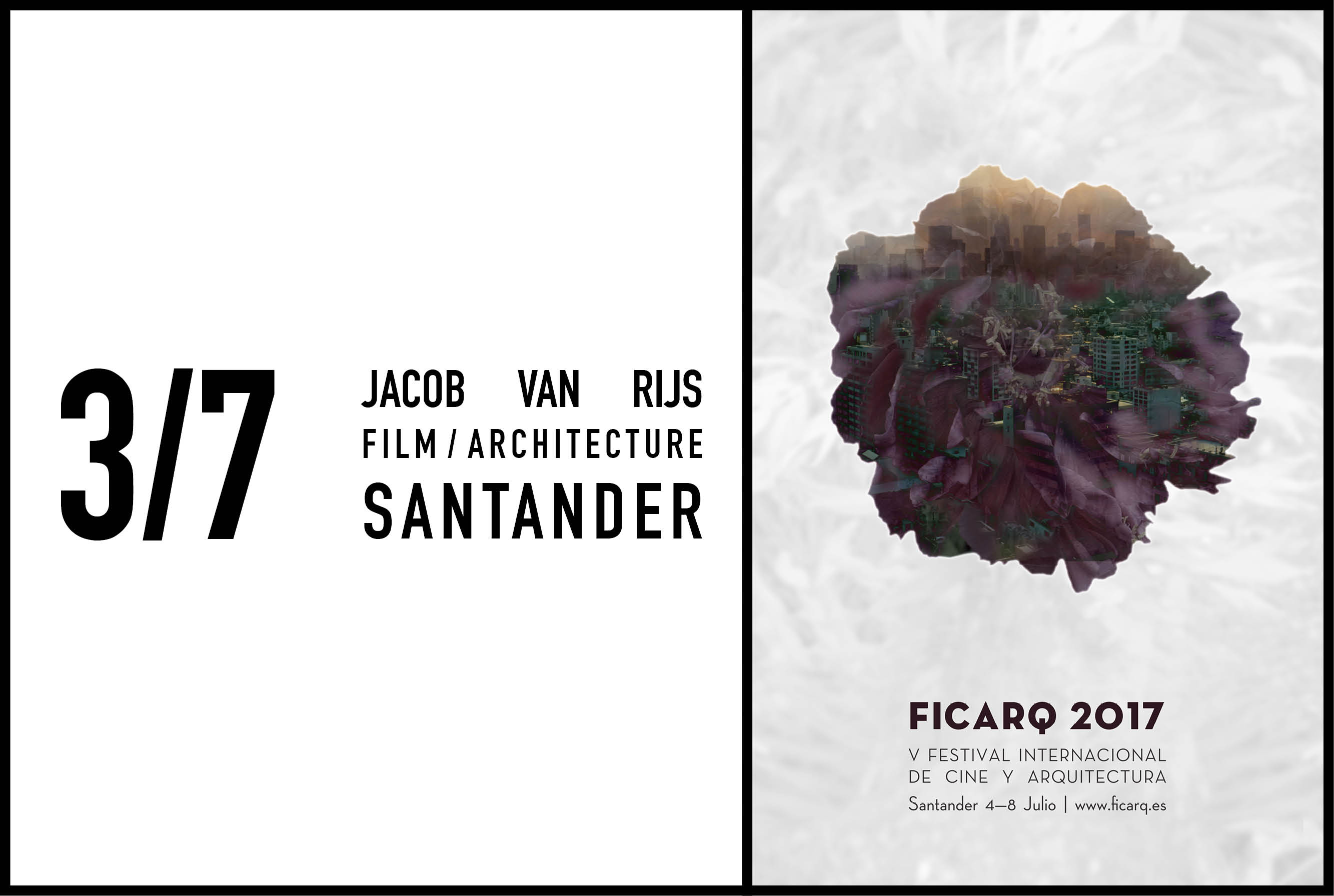 Jacob van Rijs to give opening lecture at FICARQ, 3 July 2017