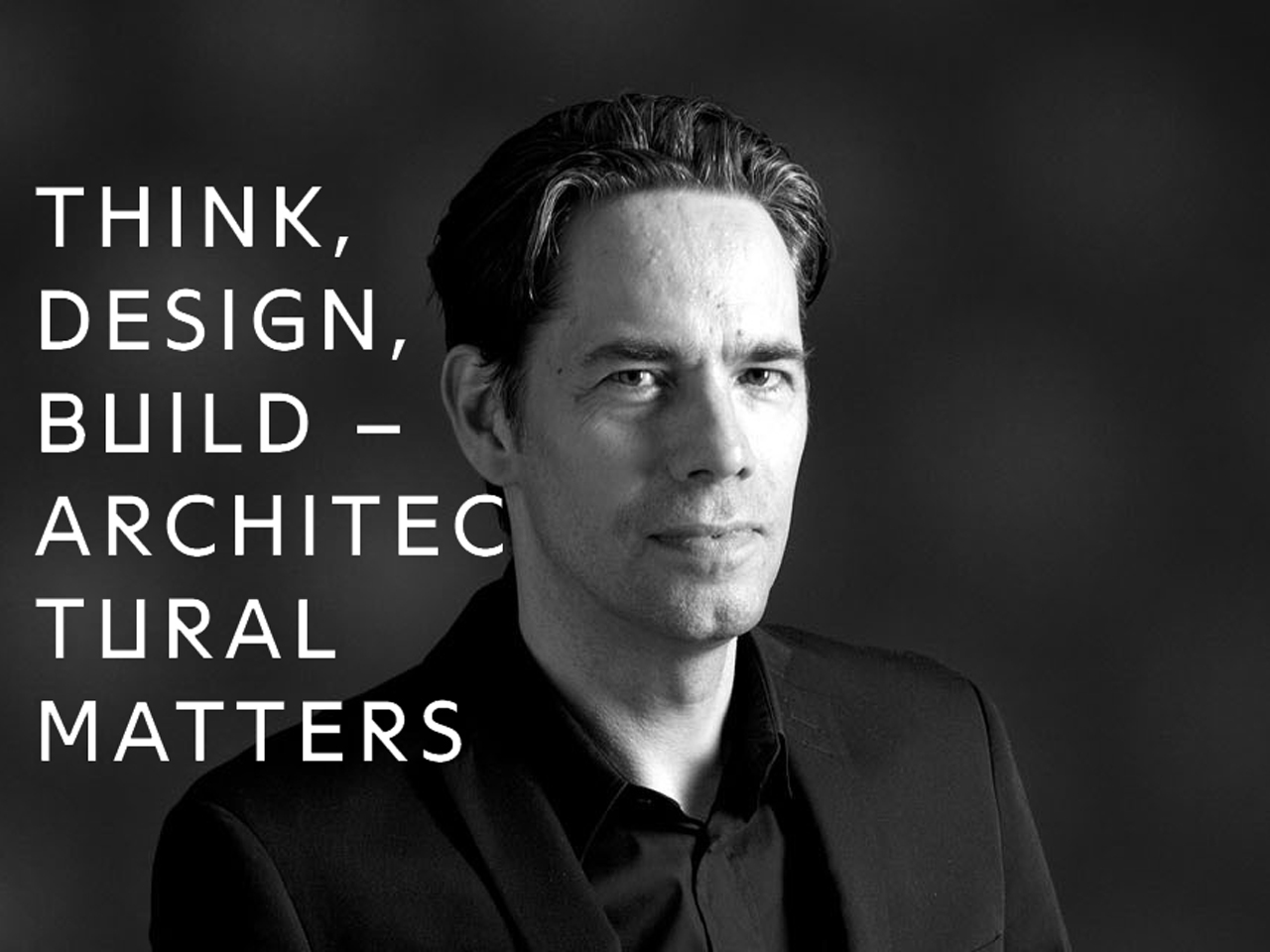 Jacob van Rijs to talk at Think.Design.Build conference Berlin, 2nd June 2016