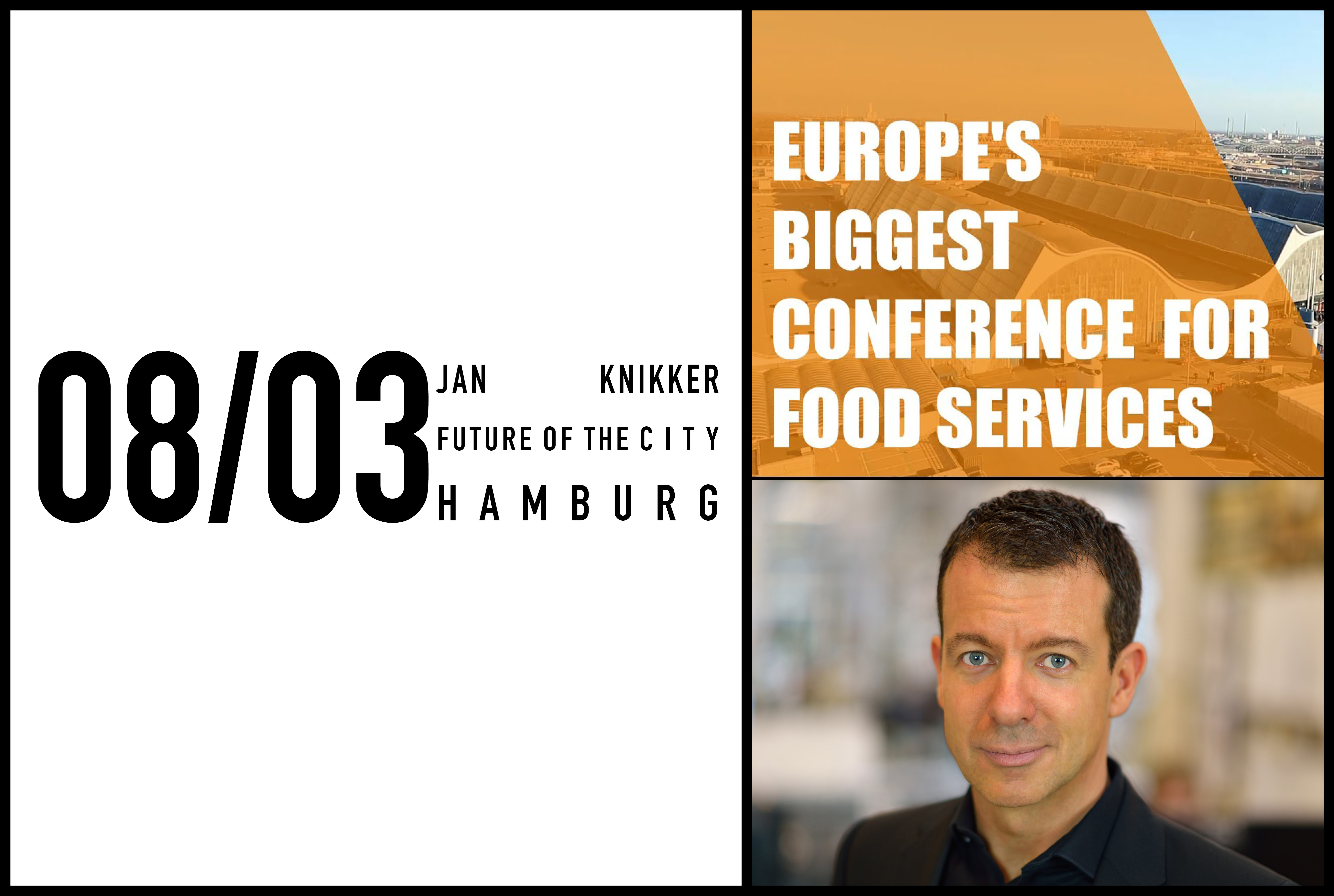 Jan Knikker to speak at International Foodservice Forum 8th of March, 2018