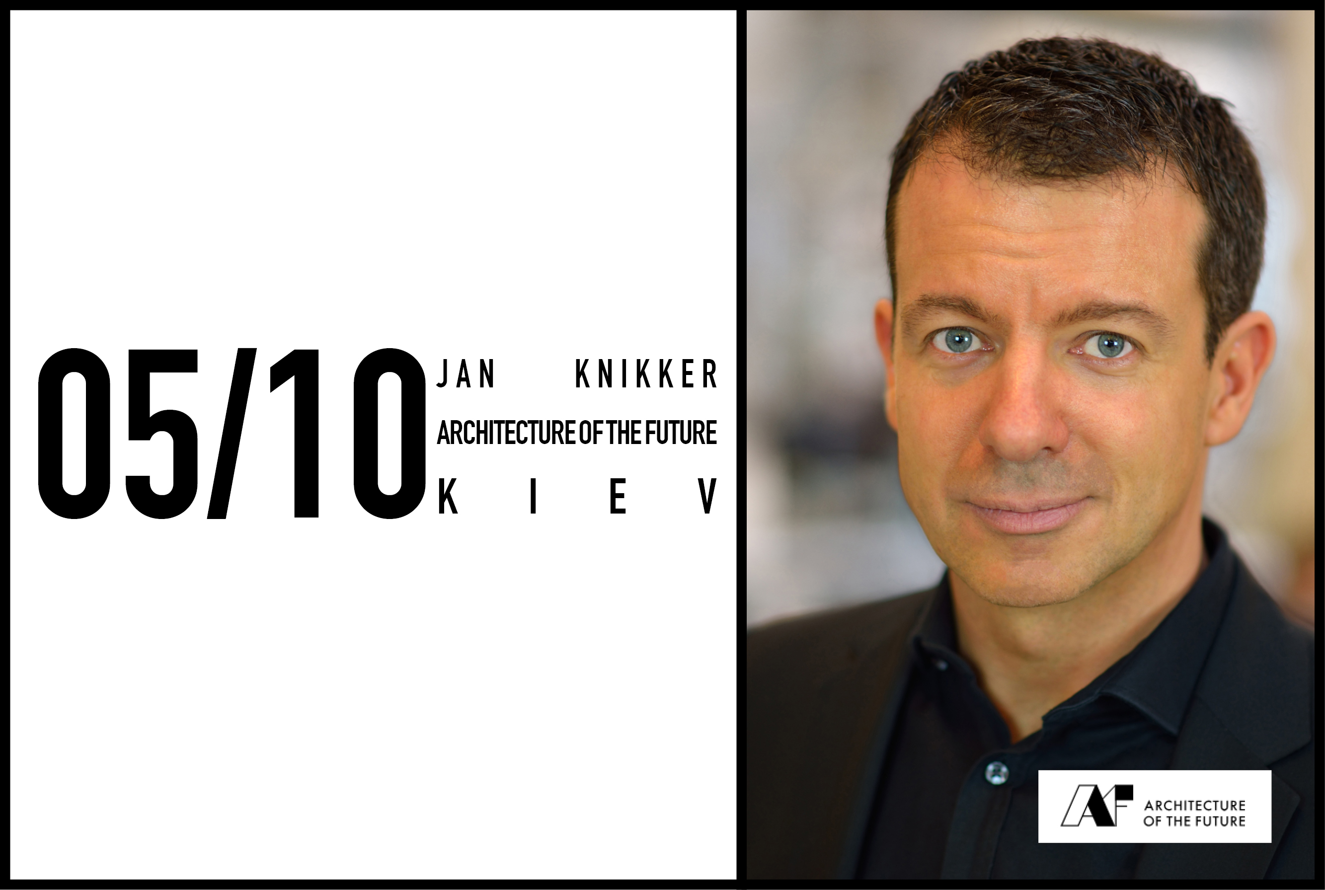 Jan Knikker to speak at Architecture of the Future Conference