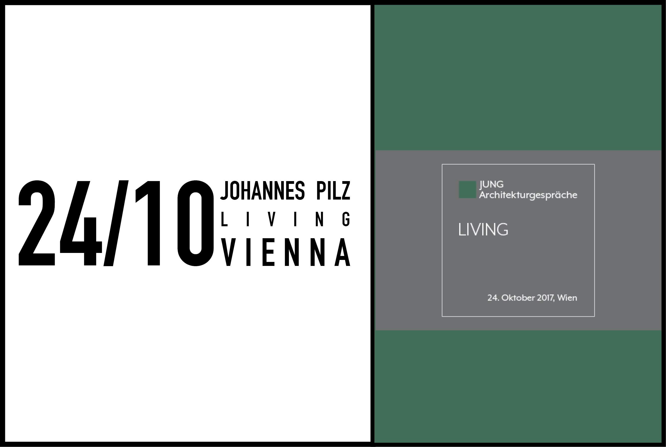 MVRDV's Johannes Pilz to give lecture at Jung Architekturgespräche in Vienna, Austria, 24 October 2017