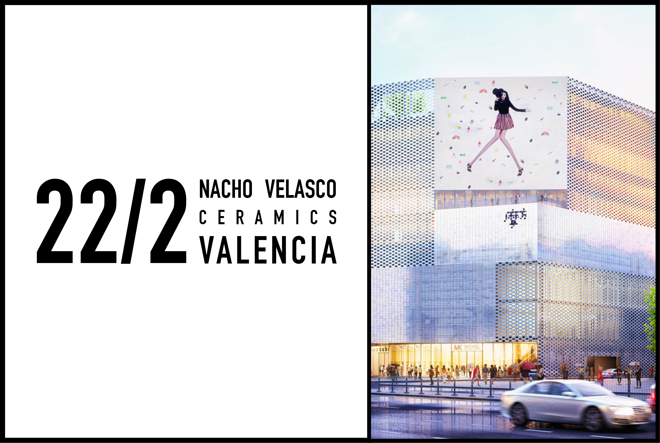 Nacho Velasco to give a talk on Ceramics and Architecture in Valencia, 22 February 2017