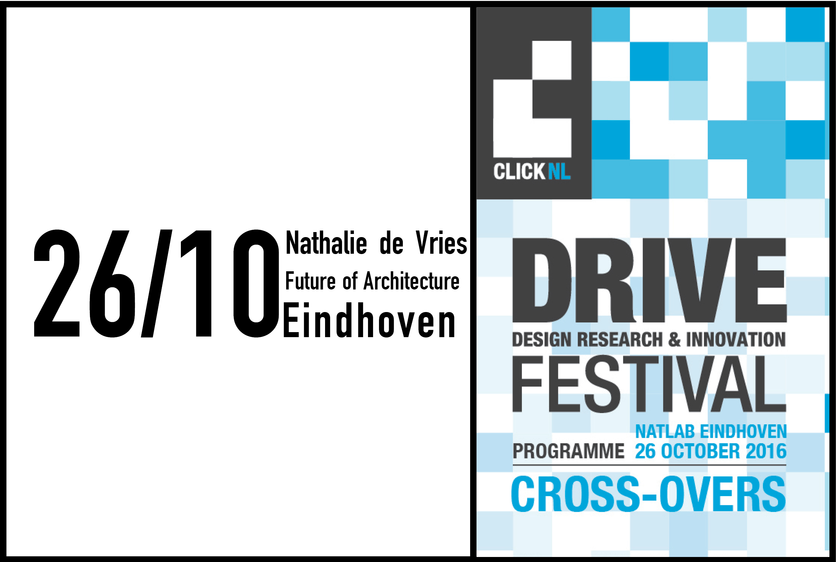 Nathalie De Vries keynote at DRIVE Festival Eindhoven, 26th October 2016