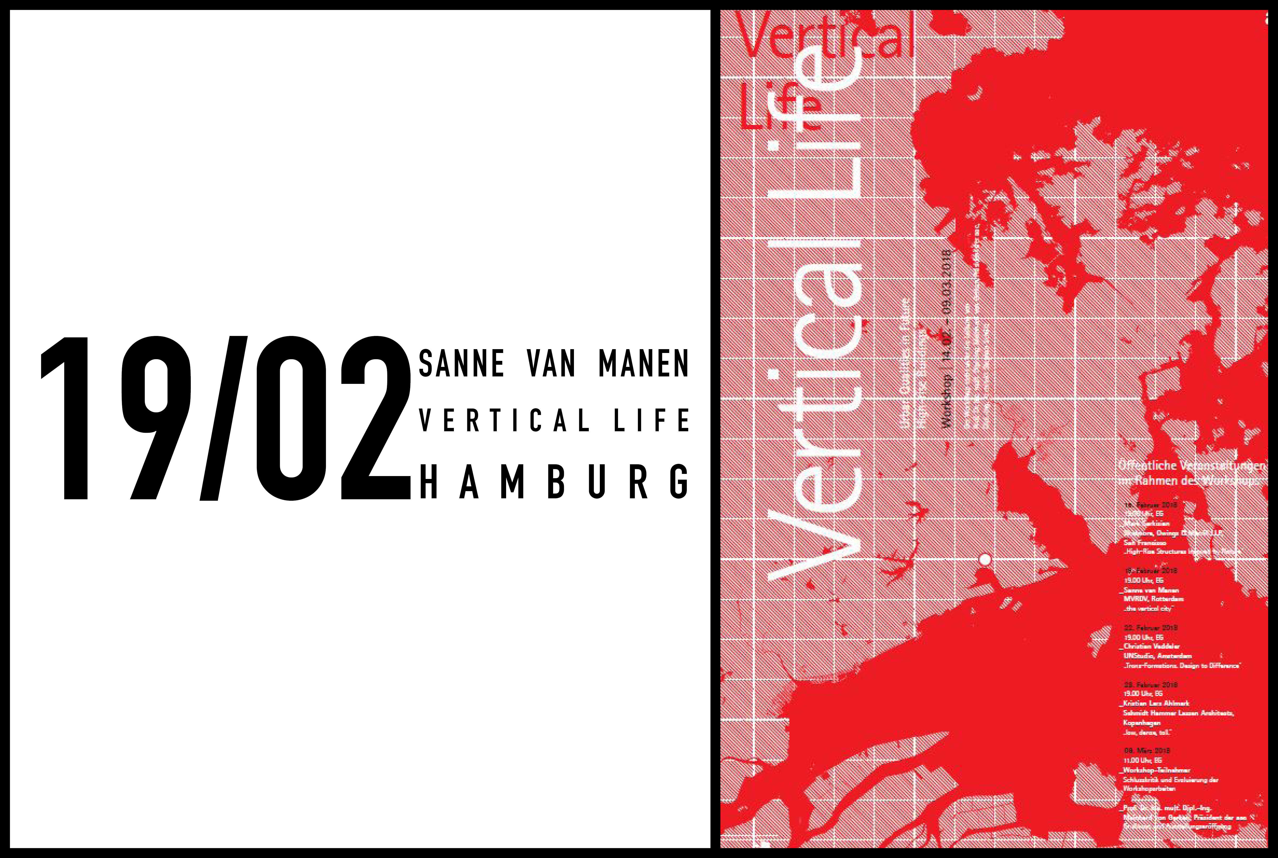 Sanne van Manen to speak at Vertical Life in, 19 February in Hamburg, Germany