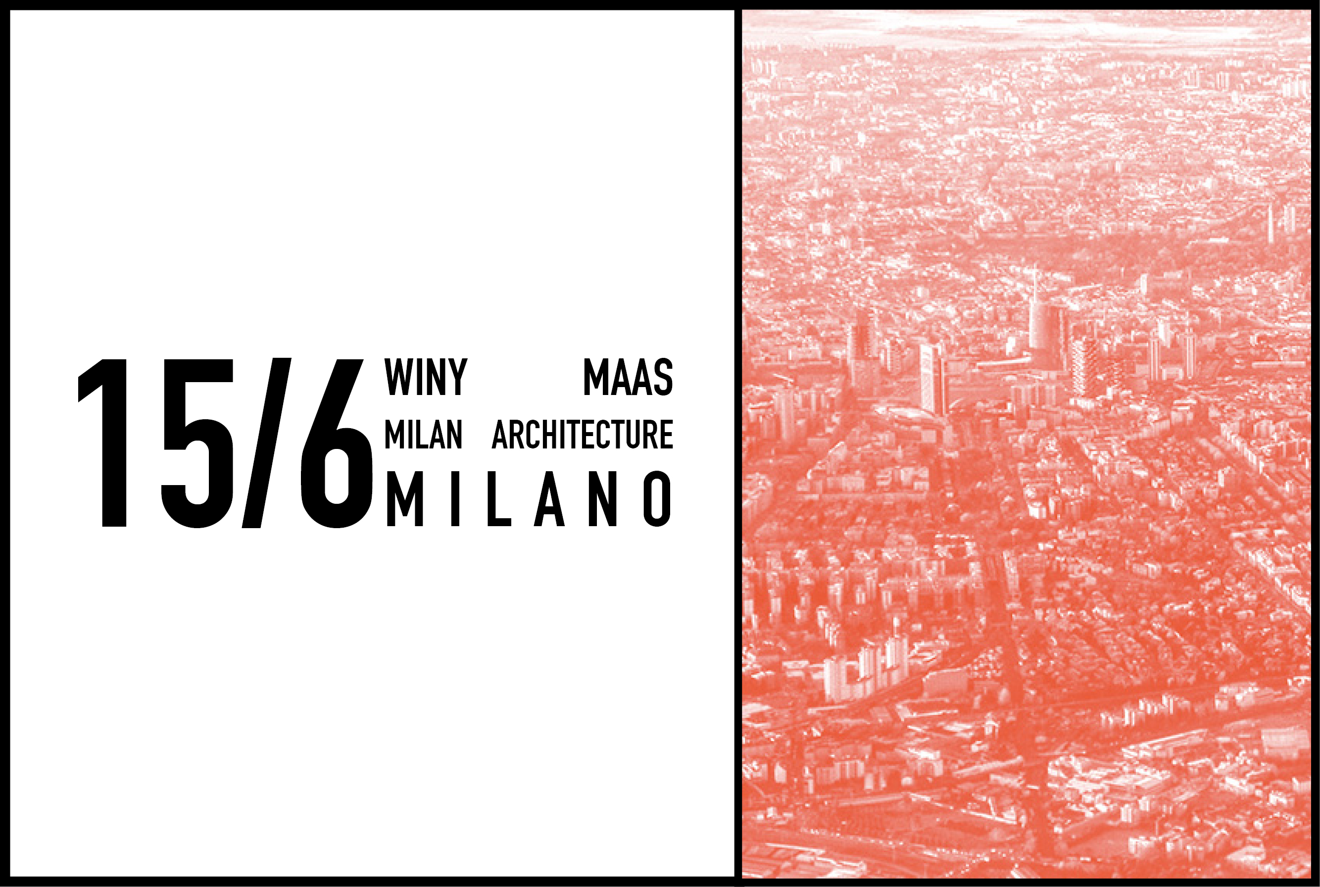 Winy Maas at Milano Arch Week 2017, 15 June 2017