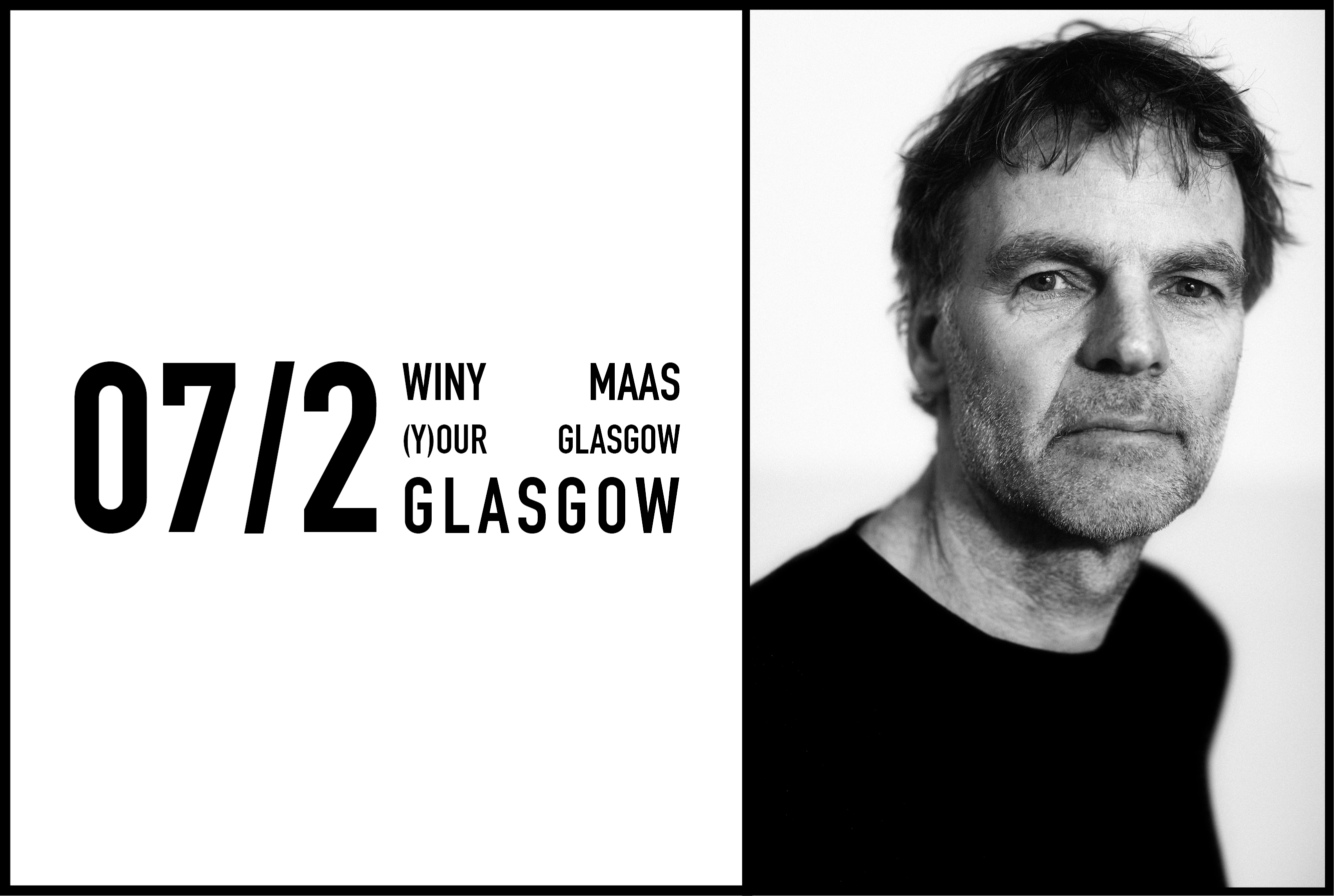 Winy Maas (Y)our Glasgow lecture, 7 February 2017