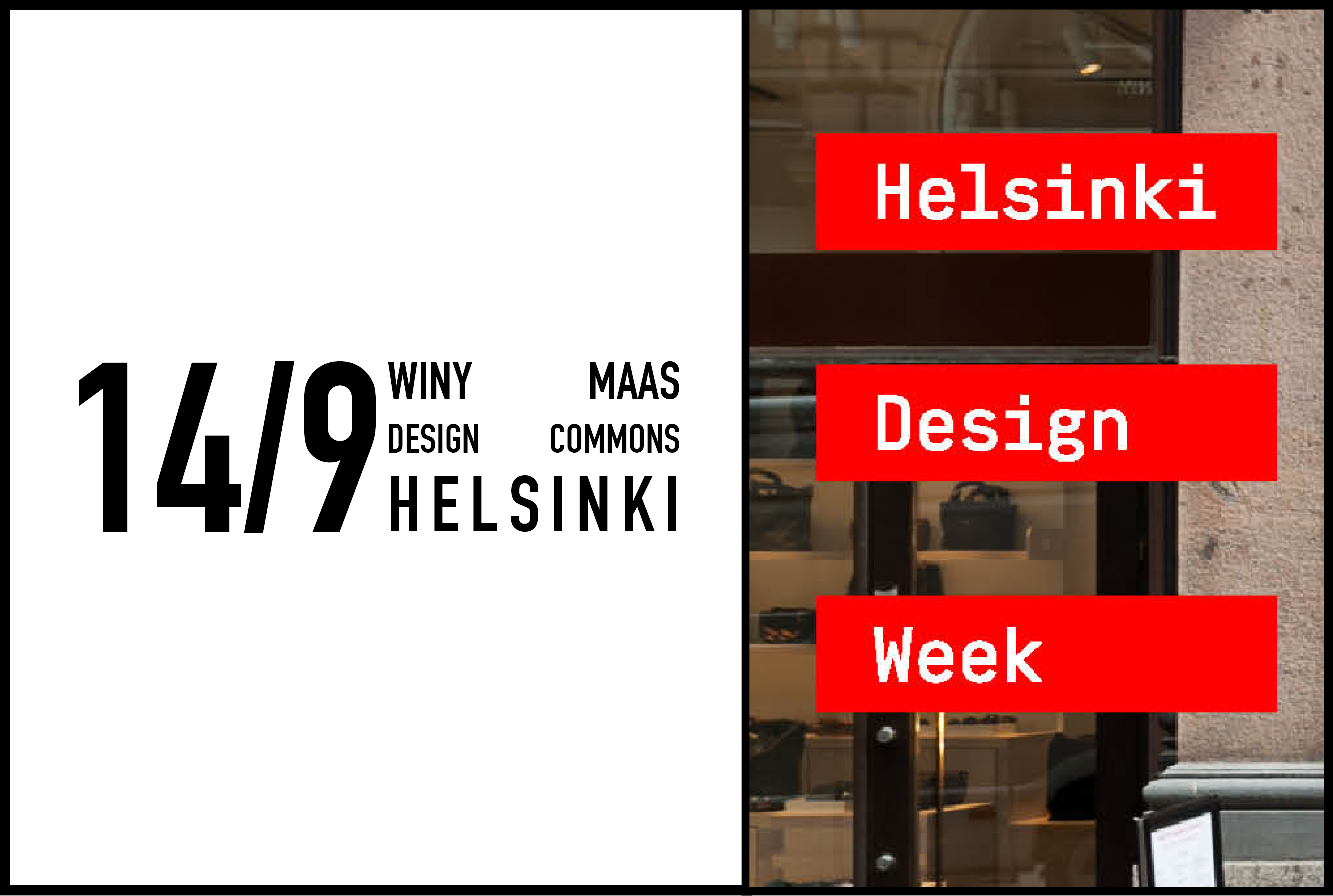 Winy Maas to speak at Helsinki Design Week 2017, 14 September 2017