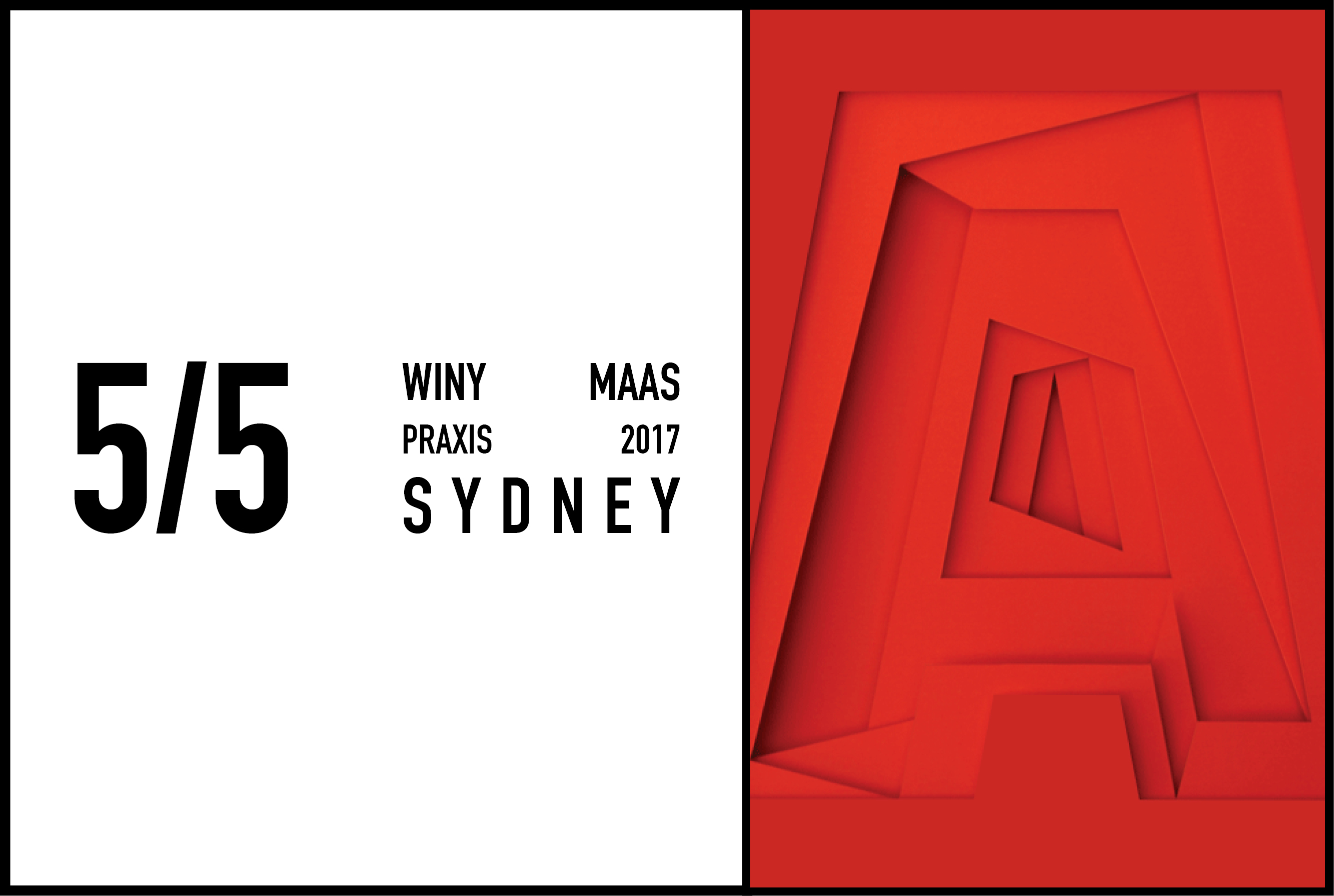Winy Maas at PRAXIS - The National Architecture Conference Australia, 5 May 2017