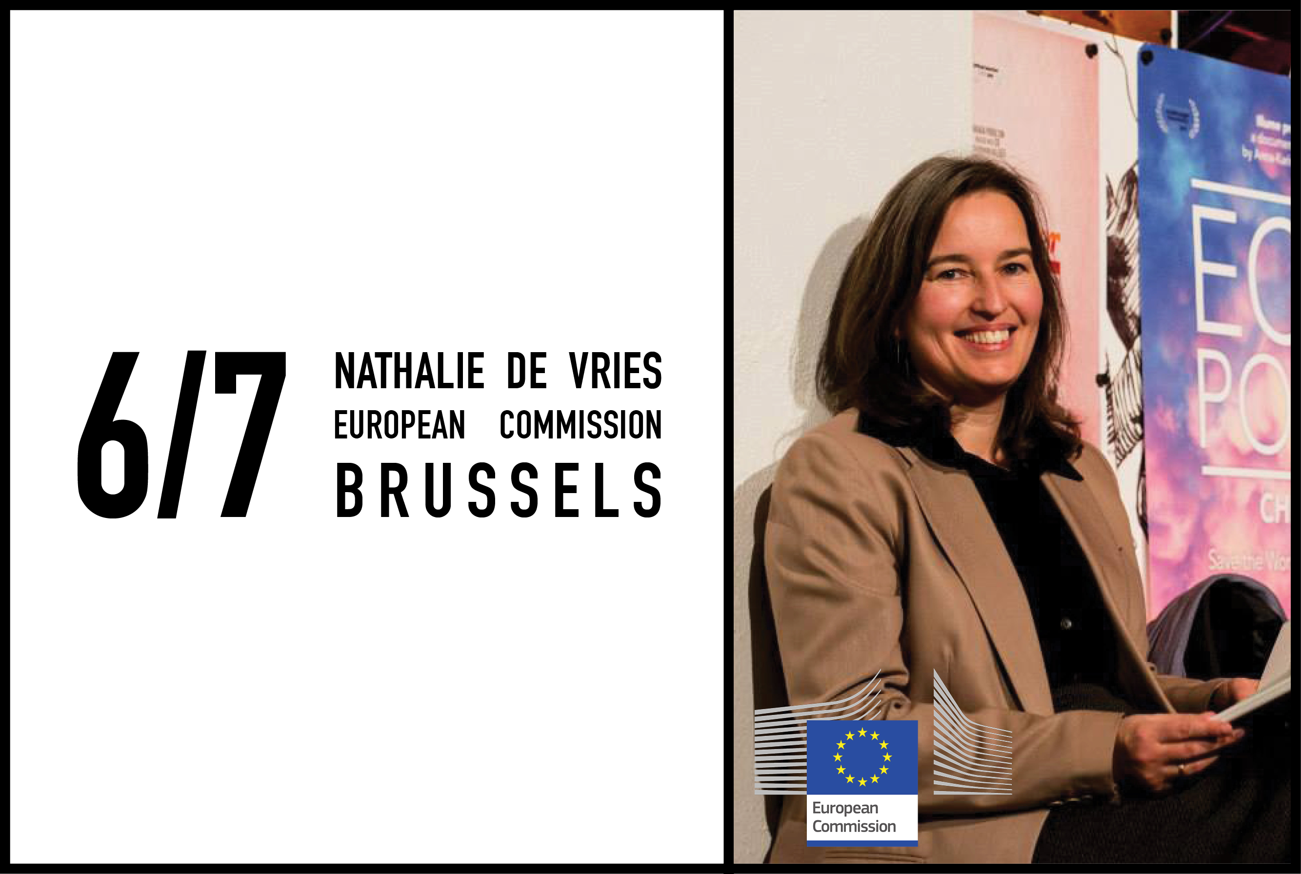 Nathalie de Vries to give lecture at European Commission symposium ''Construction: Let's build changes!'', 6 july 2017