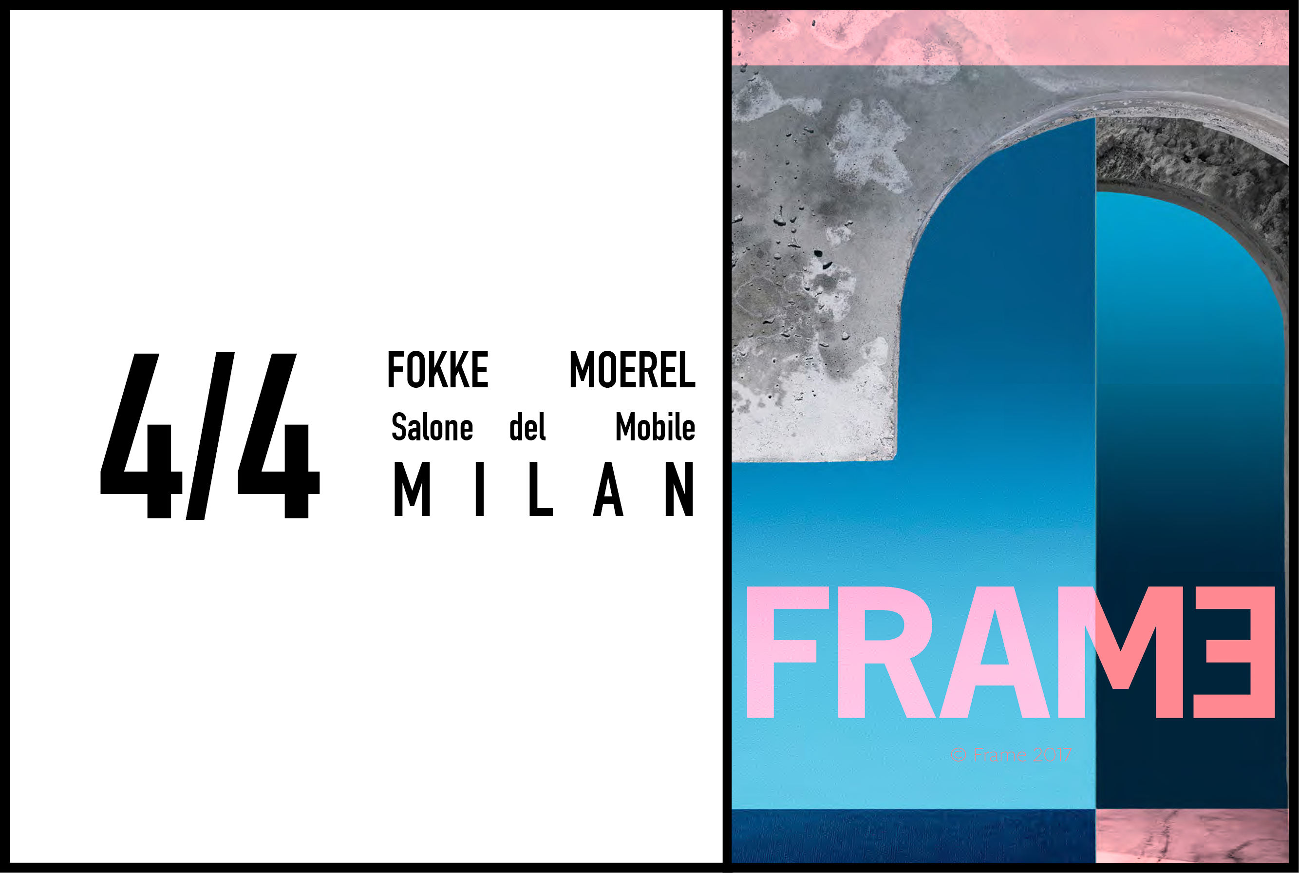 Fokke Moerel at Frame's MINDS event, Salone del Mobile, 4 April 2017