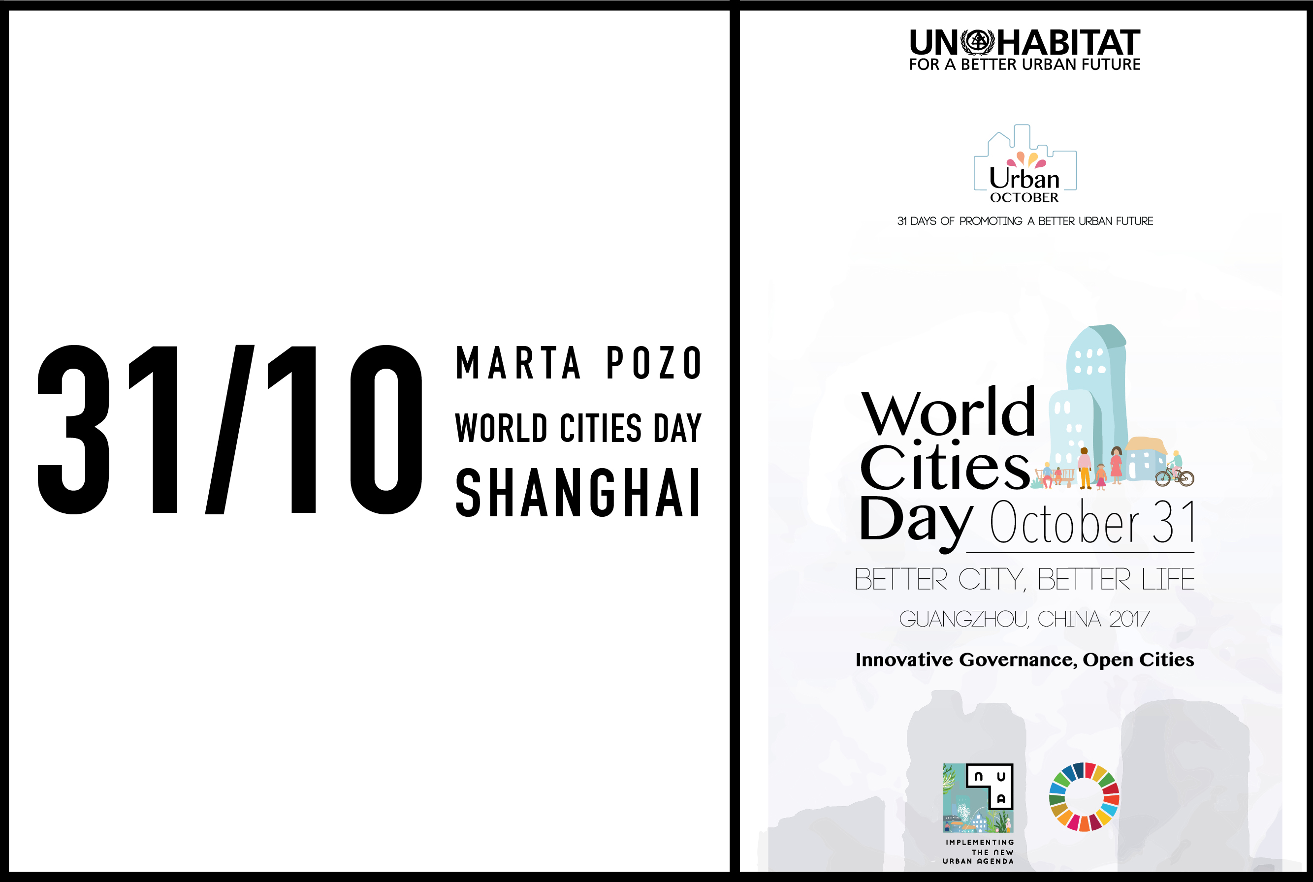 Marta Pozo, MVRDV Asia Director, to speak at World Cities Day in Shanghai, 31 October 2017