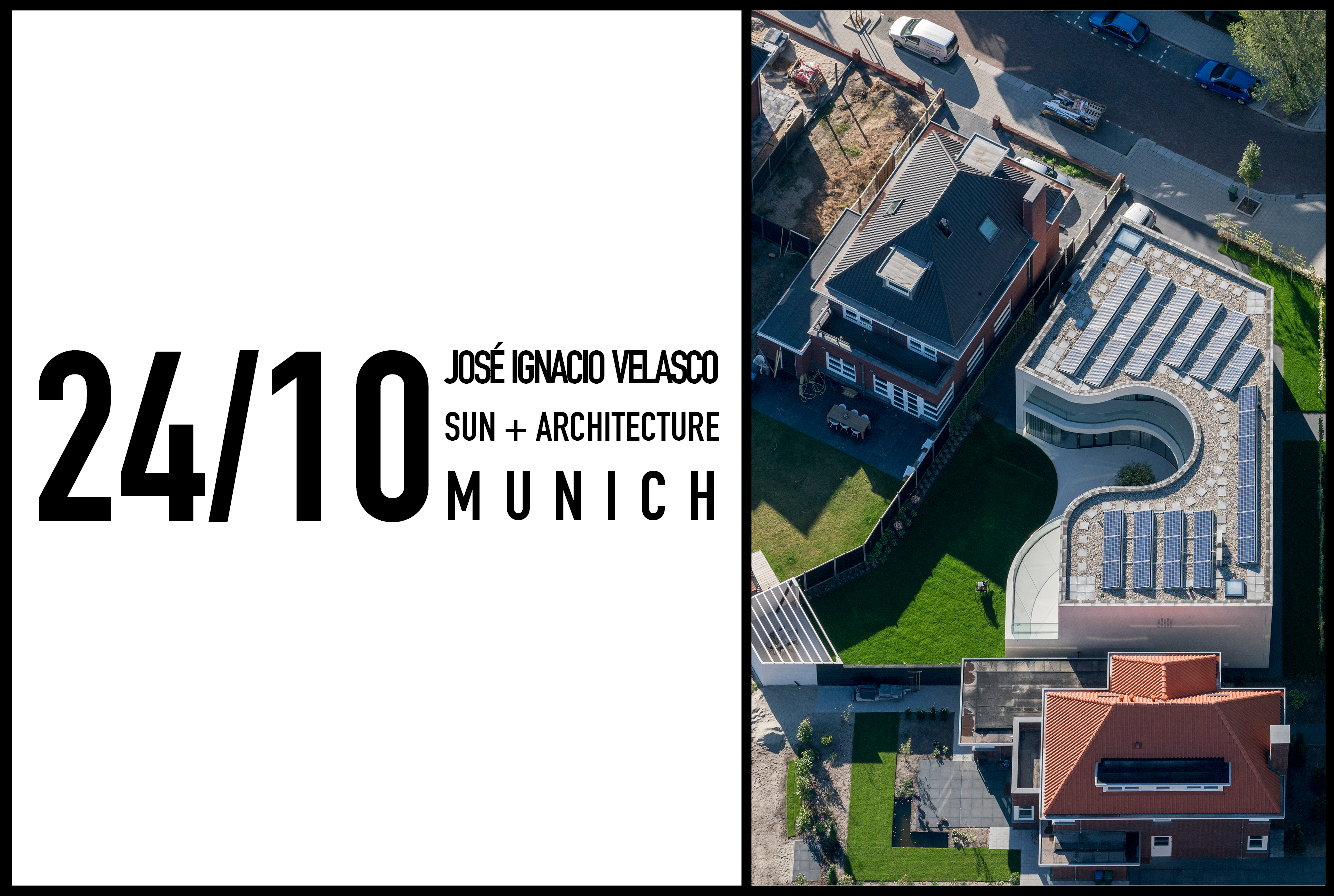 José Ignacio Velasco Martin to lecture about sun and architecture in Munich, 24 October 2017