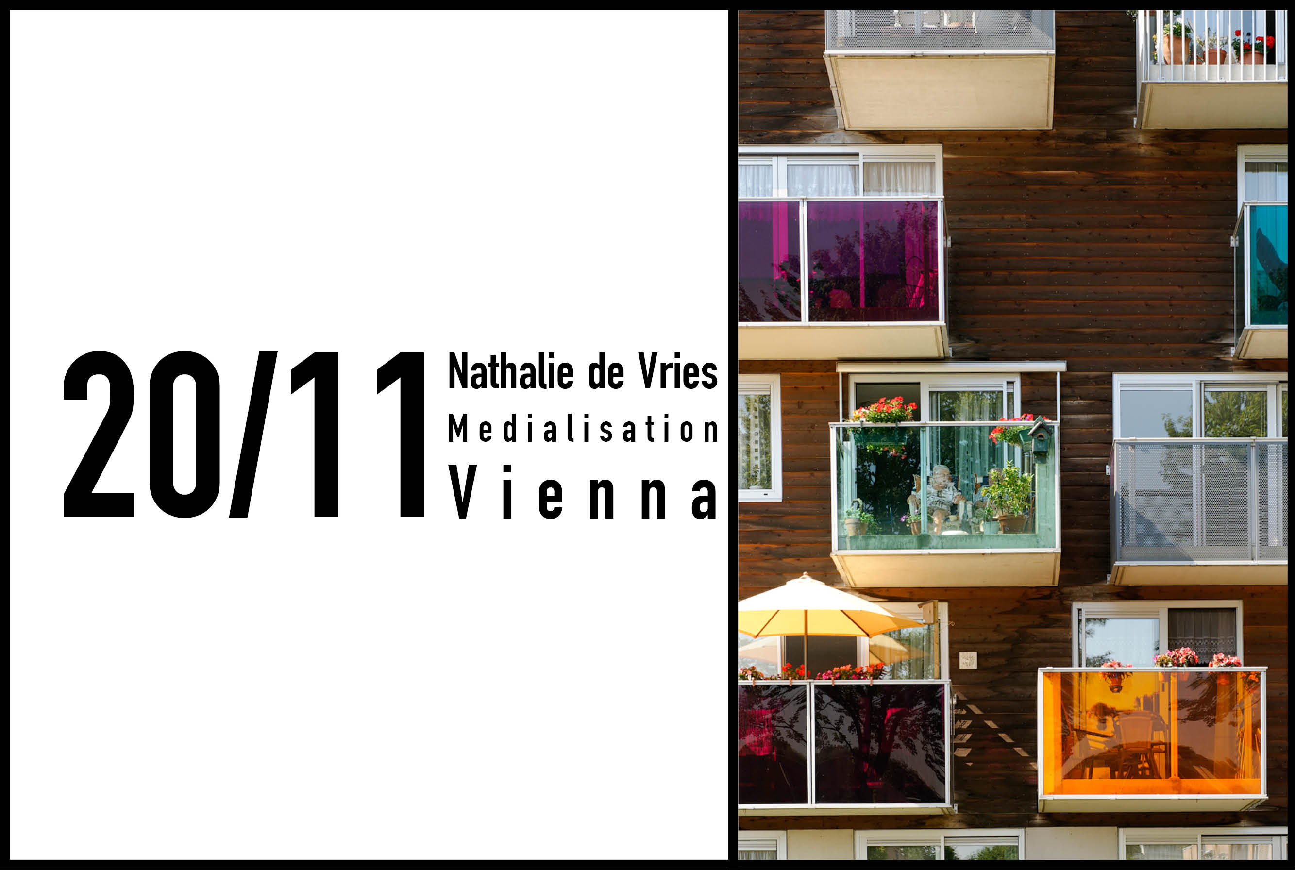 Nathalie de Vries speaks at the 20th Vienna Architecture Congress, AzW, Vienna, 20th November 2016
